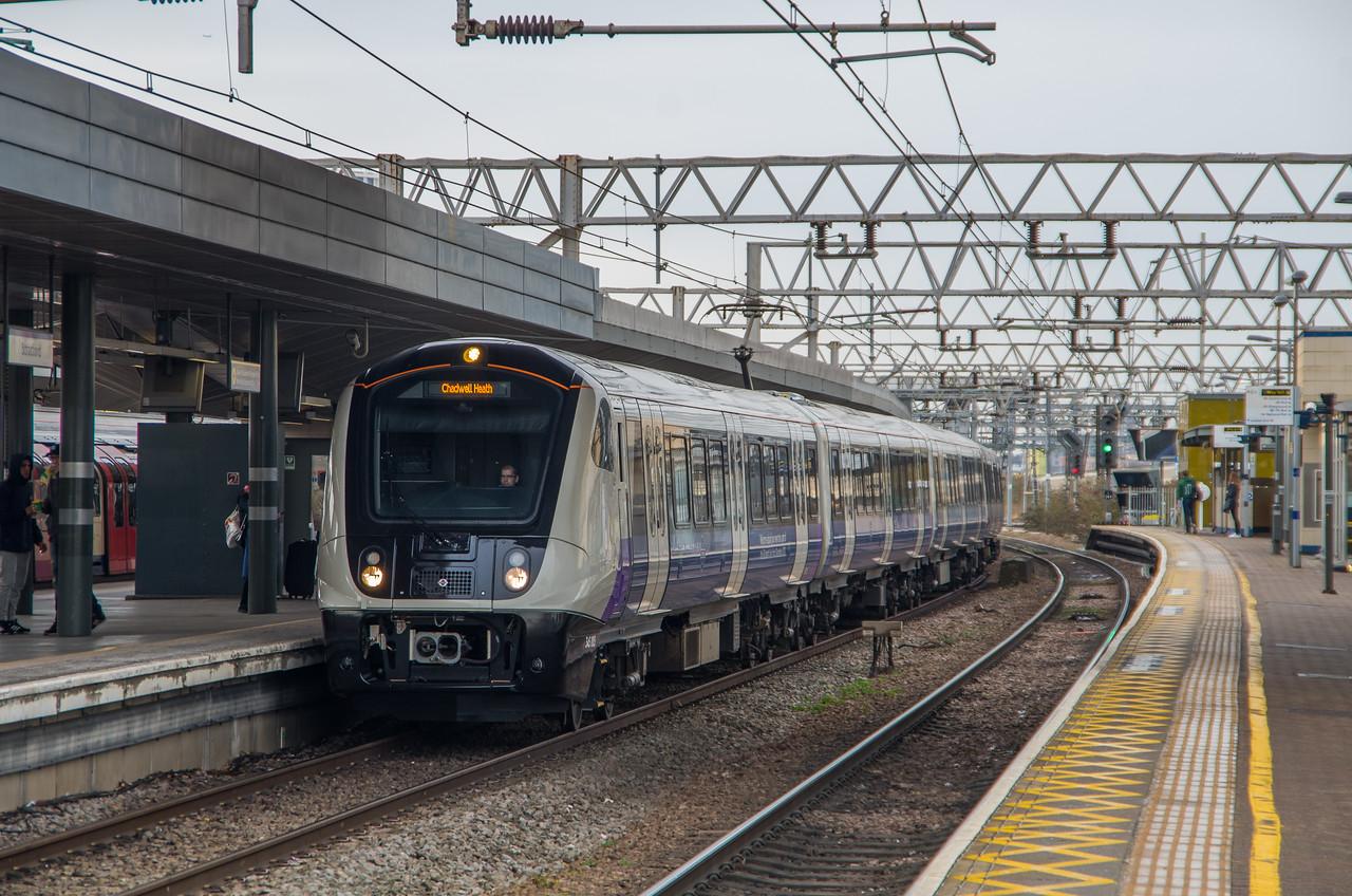 345005 (TfL Rail), Stratford