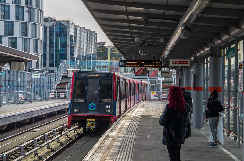 Stratford DLR station