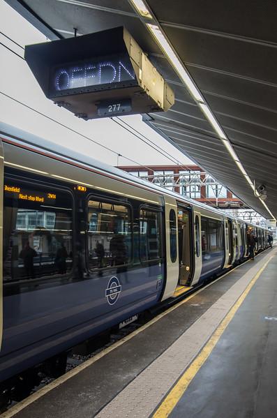 Class 345. TfL Rail, Stratford