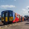 SWR Class 455 no 5707 @ Clapham Junction