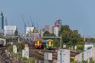 Electrostar Generations - Clapham Junction