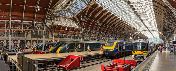 London Paddington line up