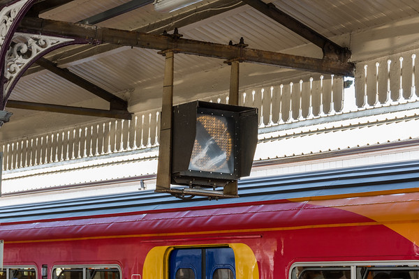 Banner repeater at Clapham Junction