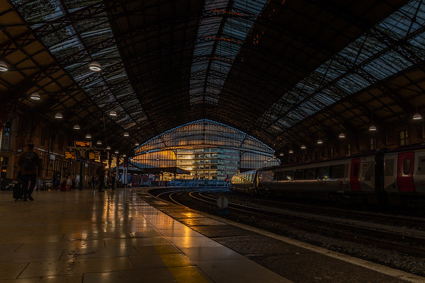 Sunset at Temple Meads