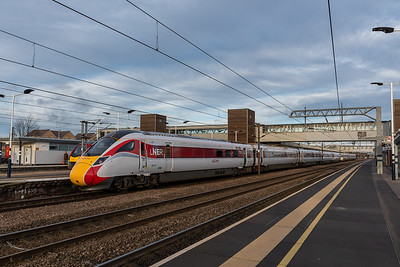 801213, LNER Azuma at Peterborough