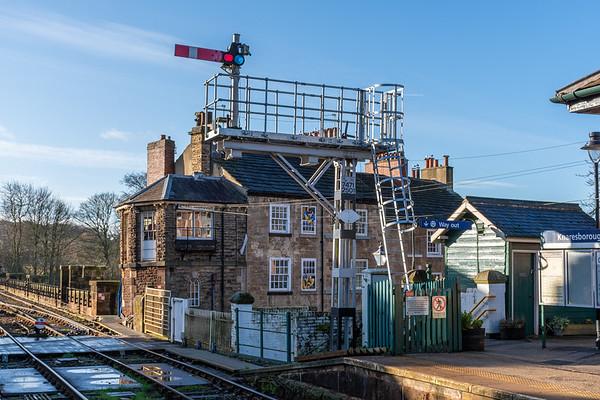 Knaresborough signal & signal box