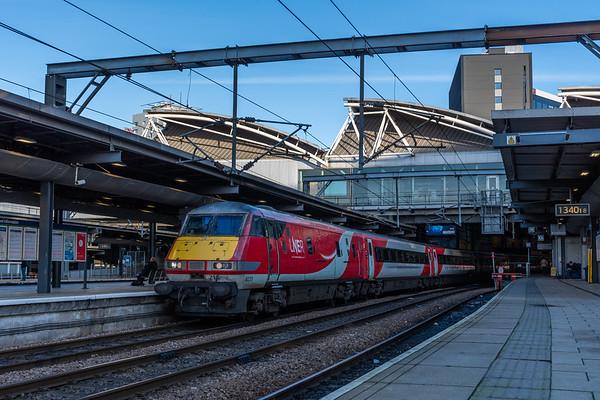 LNER Mark 4 DVT 82215, Leeds