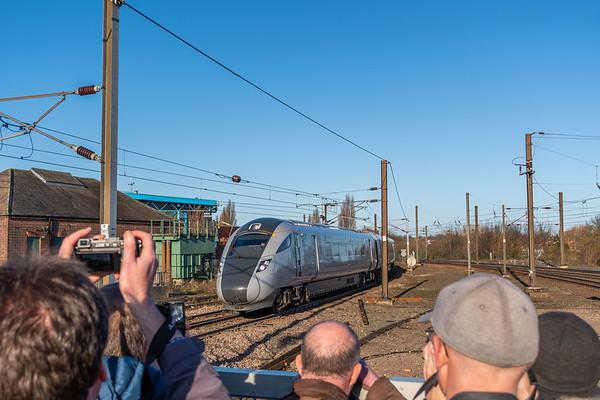 TPE (unbranded) 802218 arrives into York
