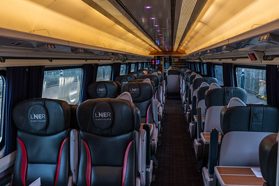 Mark 4 Interior - LNER First