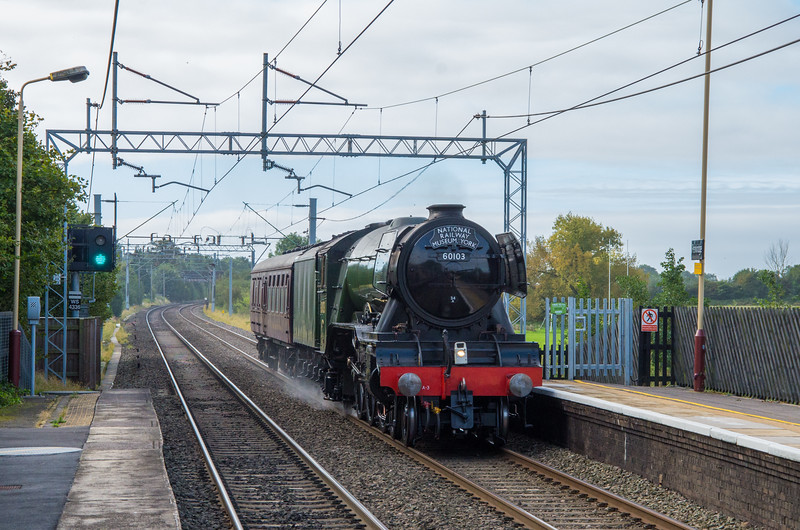 60103 'Flying Scotsman' at Penkridge