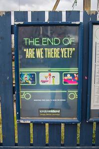 London Midland free wifi advert sign