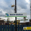 Station name sign, Bescot Stadium