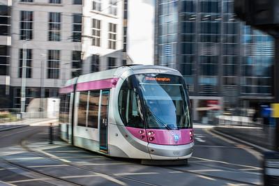 Urbos 3 Tram, Birmingham Snow Hill
