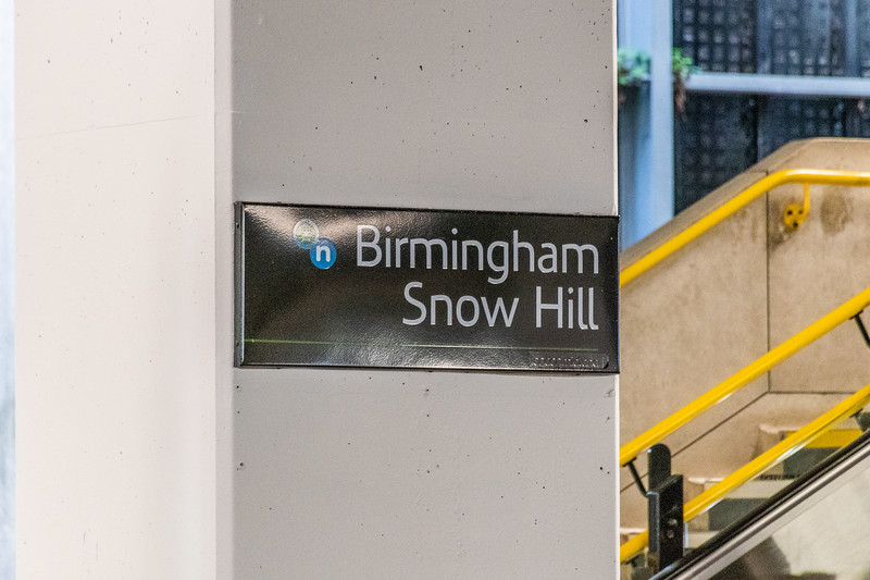 Remains of London Midland - Birmingham Snow Hill