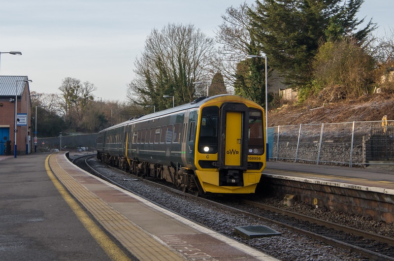 GWR Class 158956 at Cheltenham