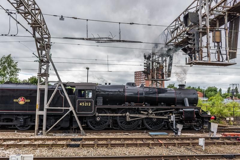 45212 + 60103 'Flying Scotsman', Crewe