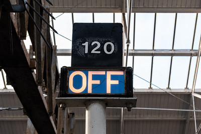BR Style OFF indicator for CE120 at Crewe