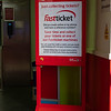 Virgin Trains Fast Ticket Signage at Crewe