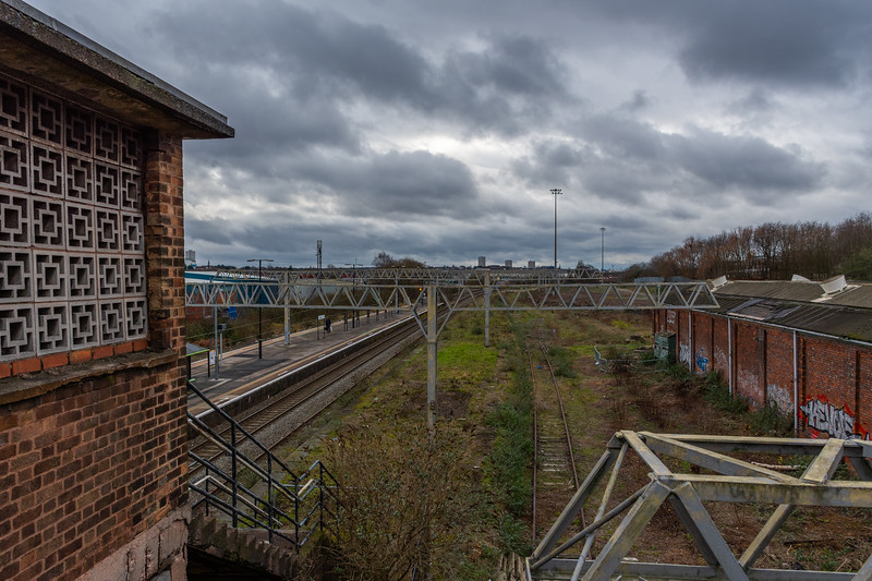 Disused infrastructure, Duddeston station
