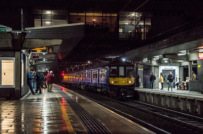 Northern Electric class 319 at Stafford