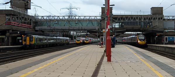 Rush hour at Stafford