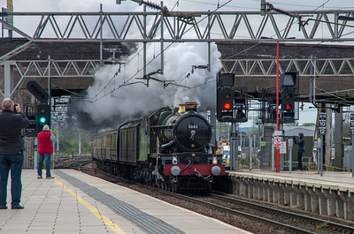 5043 'Earl of Mount Edgcumbe', Stafford