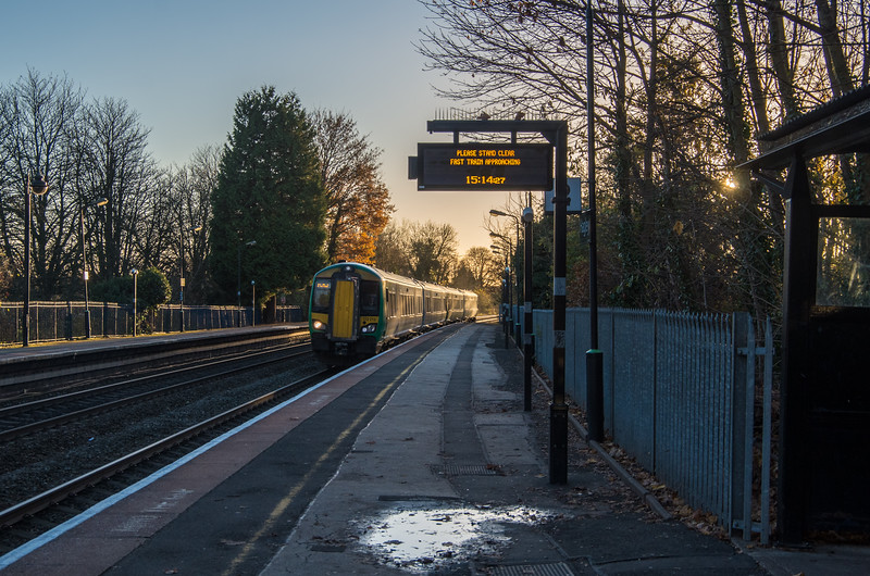 Fast train approaching!