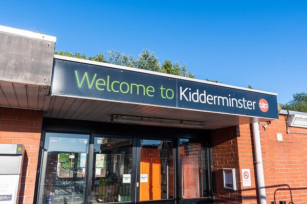 Kidderminster Station Building - Soon to be Demolished (Now demolished)