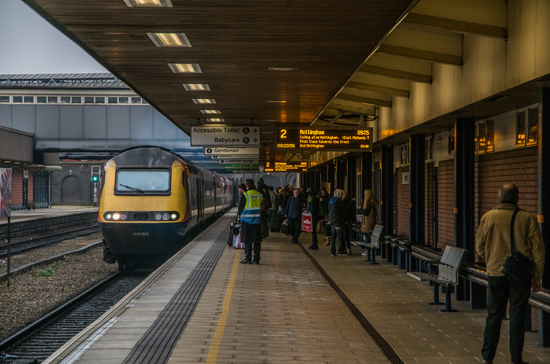 East Midlands Trains HST at Leicester