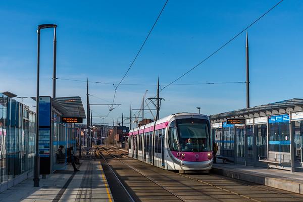 Tram 25 - St Chads