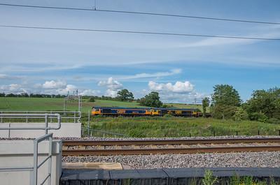 GBRf Class 66s at Norton Bridge