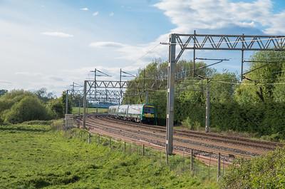 London Midland Turbostar at Norton Bridge