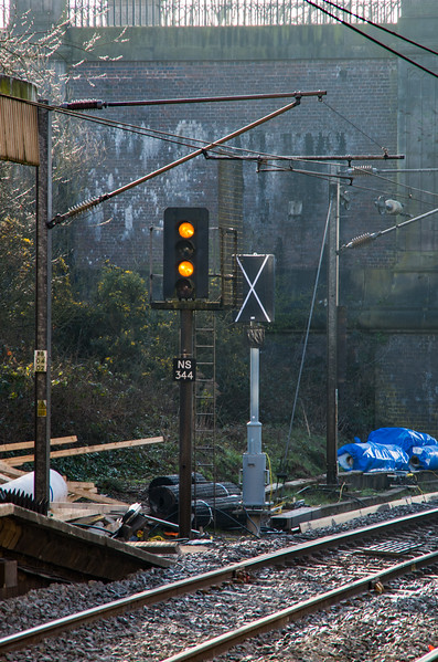 Resignalling progress at Smethwick Galton Bridge