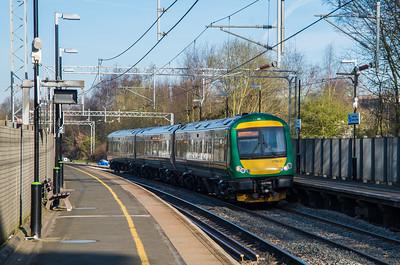 London Midland class 170 at Smethwick Galton Bridge