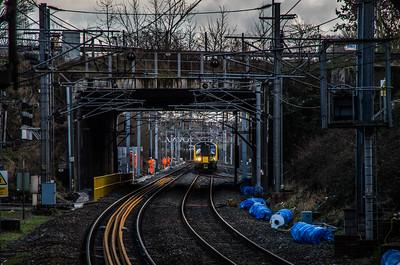 London Midland class 350 at Smethwick Galton Bridge