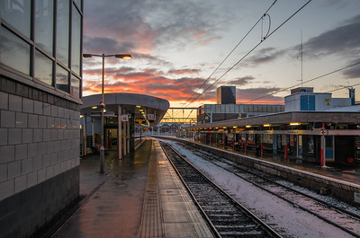 Sunrise at Wolverhampton