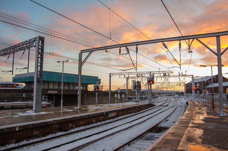 Sunrise at Wolverhampton