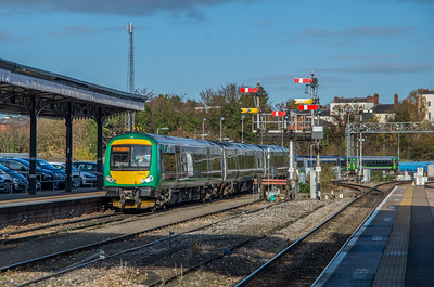 London Midland Turbostar at Shrub Hill