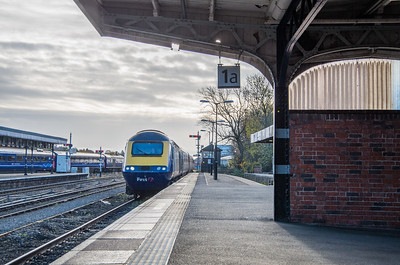 GWR (FGW) HST at Shrub Hill