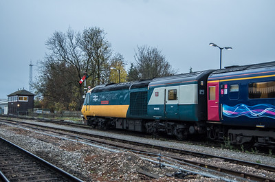 43002 'Sir Kenneth Grange' at Worcester Shrub Hill