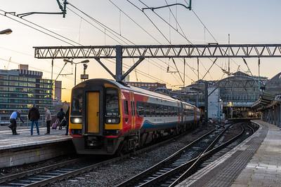 158783 (EMR Regional), Manchester Piccadilly