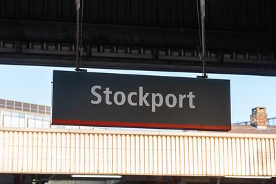 Stockport - Station Running Board (VTWC)