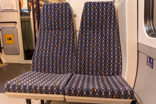 West Midlands Railway moquette - Class 323