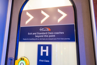 Virgin Trains - Exit from First Class