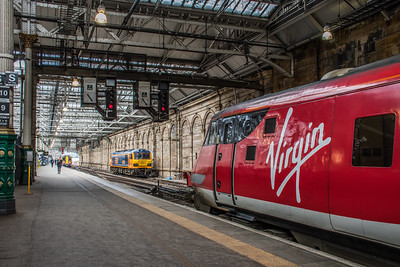 DVT, Class 92 and Class 380 at Edinburgh