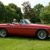 MGC : Photo's of a 1968 MGC, one of the very first off the production line and used in advertising features