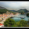 Parga Harbour, Tourist, Boats Visiting
