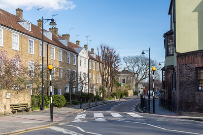 Town houses in Islington