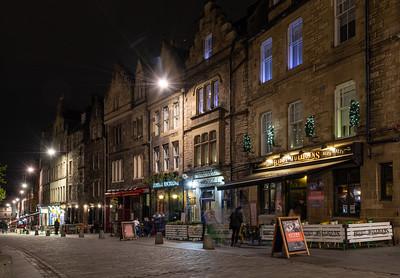 Pubs on Edinburgh's Grassmarket