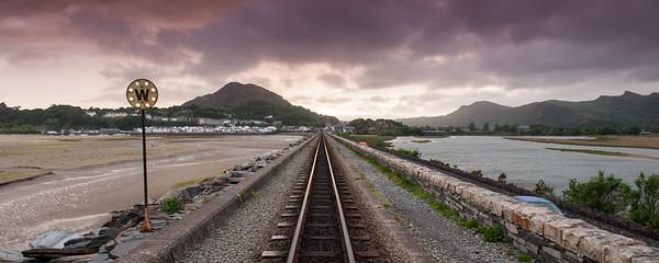 Ffestiniog Railway at Porthmadog